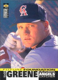 1995 Collector's Choice #34 Todd Greene VG California Angels