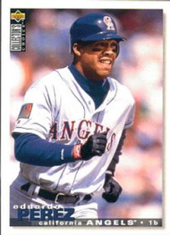 1995 Collector's Choice #94 Eduardo Perez VG California Angels