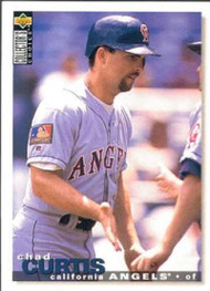1995 Collector's Choice #99 Chad Curtis VG California Angels