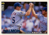 1995 Collector's Choice #100 Tim Salmon VG California Angels