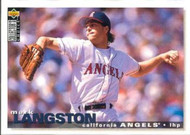 1995 Collector's Choice #103 Mark Langston VG California Angels