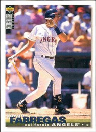 1995 Collector's Choice #91 Jorge Fabregas VG California Angels