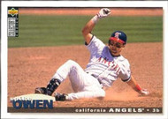 1995 Collector's Choice #93 Spike Owen VG California Angels