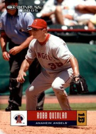 2005 Donruss #80 Robb Quinlan VG Los Angeles Angels