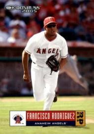 2005 Donruss #75 Francisco Rodriguez VG Los Angeles Angels