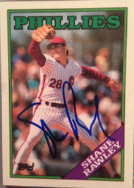 Shane Rawley Autographed 1988 Topps #66