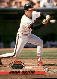 1993 Stadium Club #459 John Orton VG California Angels