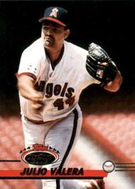 1993 Stadium Club #386 Julio Valera VG California Angels