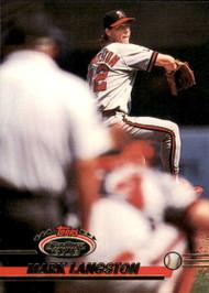 1993 Stadium Club #355 Mark Langston VG California Angels