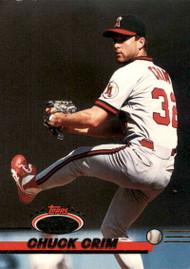 1993 Stadium Club #327 Chuck Crim VG California Angels