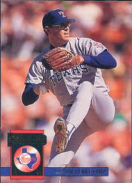 1994 Donruss #162 Tom Henke VG Texas Rangers
