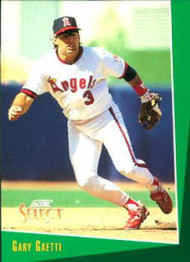 1993 Select #262 Gary Gaetti VG California Angels