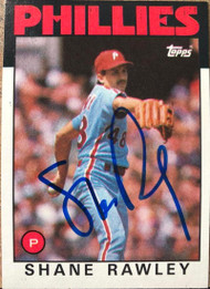 Shane Rawley Autographed 1986 Topps #361