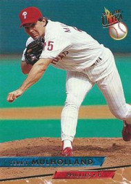 1993 Ultra #92 Terry Mulholland VG Philadelphia Phillies