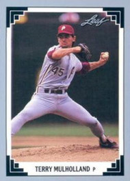 1991 Leaf #46 Terry Mulholland VG Philadelphia Phillies