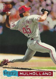 1994 Stadium Club #222 Terry Mulholland VG Philadelphia Phillies