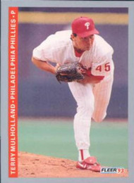 1993 Fleer #106 Terry Mulholland VG Philadelphia Phillies