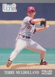 1991 Ultra #269 Terry Mulholland VG Philadelphia Phillies