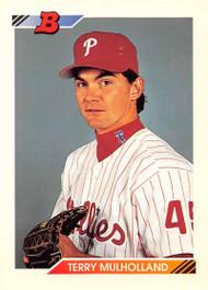 1992 Bowman #39 Terry Mulholland VG Philadelphia Phillies