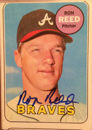 Ron Reed Autographed 1969 Topps #177