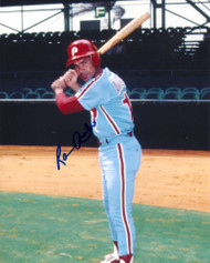 Ramon Aviles Autographed Phillies 8 x 10 Photo 2