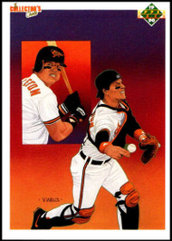 1990 Upper Deck #60a Mickey Tettleton TC ERR VG Baltimore Orioles