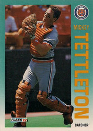 1992 Fleer #147 Mickey Tettleton VG Detroit Tigers