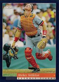1994 Score #51 Mickey Tettleton VG Detroit Tigers