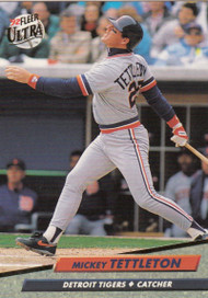 1992 Ultra #63 Mickey Tettleton VG Detroit Tigers
