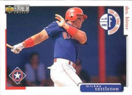 1998 Collector's Choice #248 Mickey Tettleton VG  Texas Rangers