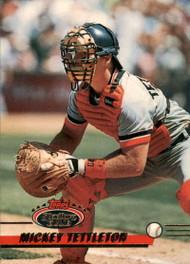 1993 Stadium Club #31 Mickey Tettleton VG Detroit Tigers