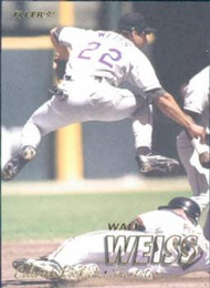 1997 Fleer #320 Walt Weiss VG Colorado Rockies