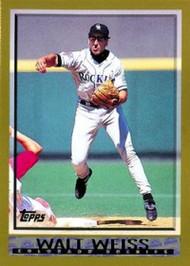 1998 Topps #96 Walt Weiss VG Colorado Rockies