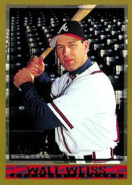 1998 Topps #456 Walt Weiss VG Atlanta Braves