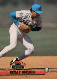 1993 Stadium Club #370 Walt Weiss VG Florida Marlins