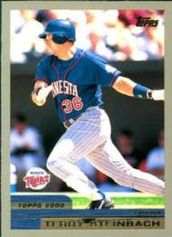 2000 Topps #118 Terry Steinbach VG Minnesota Twins