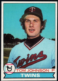 1979 Topps #162 Tom Johnson VG Minnesota Twins