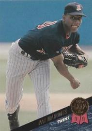 1993 Leaf #54 Pat Mahomes VG Minnesota Twins