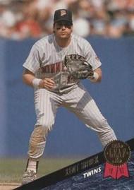 1993 Leaf #76 Kent Hrbek VG Minnesota Twins