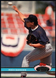 1991 Stadium Club #370 Rich Garces VG RC Rookie Minnesota Twins