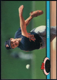 1991 Stadium Club #397 Terry Leach VG Minnesota Twins