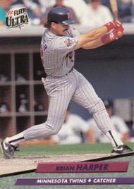 1992 Ultra #91 Brian Harper VG Minnesota Twins