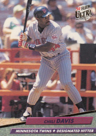 1992 Ultra #89 Chili Davis VG Minnesota Twins