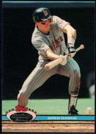 1991 Stadium Club #277 Greg Gagne VG Minnesota Twins
