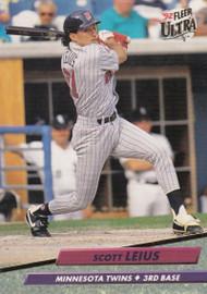 1992 Ultra #94 Scott Leius VG Minnesota Twins