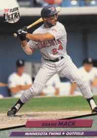 1992 Ultra #95 Shane Mack VG Minnesota Twins