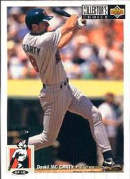 1994 Collector's Choice #194 David McCarty VG Minnesota Twins
