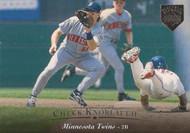 1995 Upper Deck Electric Diamond #193 Chuck Knoblauch VG Minnesota Twins