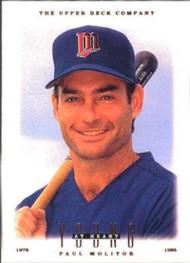1996 Upper Deck #109 Paul Molitor YH VG Minnesota Twins
