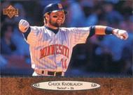 1996 Upper Deck #125 Chuck Knoblauch VG Minnesota Twins